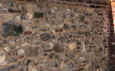 Listed Flint Stone Wall in Chichester