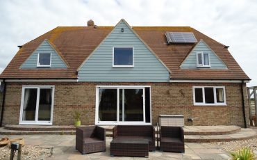 Cladding to house in Selsey